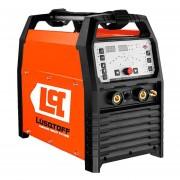 Soldadora Inverter Lusqtoff Tig Mma Ac/dc 200amp P/ Aluminio - Naranja Y Negro