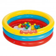 Bestway Ballpit with Balls Fisher Price 91x25 cm 93501