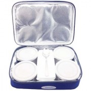 The Greens Thali Lunch Box with 5 Air Tight Containers 1 Spoon (Brand Himani)