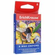 Set creioane colorate cerate - 8 culori