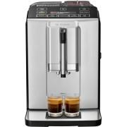 Espressor automat Bosch VeroCup TIS30321RW 1300W, 15 Bar, 1.4 l, MilkMagic Pro, Rasnita ceramica, Argintiu