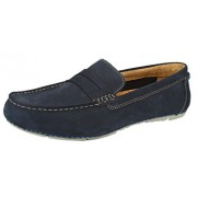 Clarks Men's Marcos Drive Navy Loafers and Mocassins - 9 UK