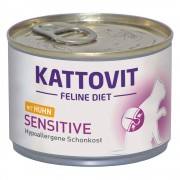Kattovit Sensitive, kurczak - 24 x 175 g Darmowa Dostawa od 89 zł