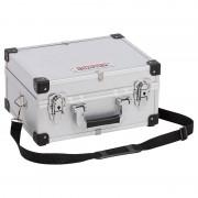Maletín de aluminio 320x230x160 mm Kreator - Gris claro