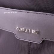 Cerruti 1881 Backpack - дизайнерска водоустойчива ергономична раница за преносими компютри до 15.6 инча (черна)