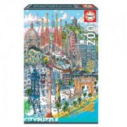 Пъзел 200 части Educa, 18473 Барселона, 8412668184732