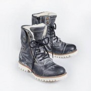 Yellow Cab Vintage Boots, Anthracite, 5 - Anthracite