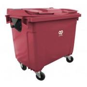 Rolléco Conteneur poubelle - 770 litres Coloris : Rouge