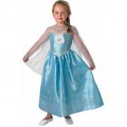 Детски карнавален костюм Elsa Frozen, 3 налични размера, Rubies, 889544