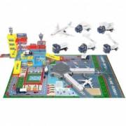 Joc interactiv pentru copii Pista Aeroport Masinute si Avion