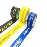 Banda Adeziva Personalizata, 48mm x 990y, Tipar 2 Culori, Adeziv Acrilic, Scotch Personalizat, Benzi Adezive pentru Ambalare Personalizate