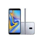 Smartphone Samsung Galaxy J6+ 32gb - Sm-j610gzajzto - Android - Tela Infinita 6- Prata