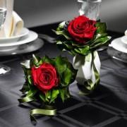 Geurig rozenboeket, bordeaux - 6 rozen