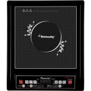 Butterfly TRIPOH0078 Platinum 1800W Induction Cooktop(Black, Push Button)