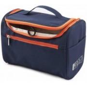 BELLVEEN Multifunctional Travel Bag Extra Large Makeup Organiser Cosmetic Case Household Grooming Kit Storage Travel Kit Pack with Hook Travel Toiletry Kit(Blue)