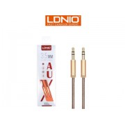 1M Gold Plated AUX Cable - LDNIO