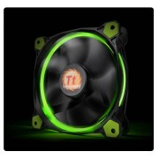 Thermaltake Riing 12 High Static Pressure LED Radiator Fan Green