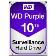 Western Digital WD Purple, 3.5',10TB, SATA/600, 256MB cache