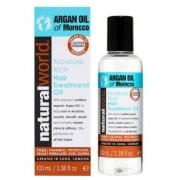 HASK NATURAL WORL MOROCCAN ARGAN OIL MOISTURE RICH HAIR TREATMENT OIL 100 ML