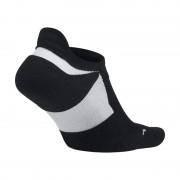 Nike Elite Cushioned No-Show Laufsocken - Schwarz