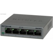 Switch Netgear GS305-100PES 5 Porturi 10/100/1000 Mbps