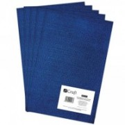 dpCraft Filc polyesterový - tmavomodrý A4, (DPFC-014)