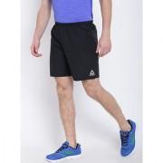 Reebok Black Polyester Lycra Shorts
