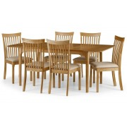 Ibsen Extending Oak Dining Table & Chairs - Table + 6 Chairs