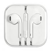 Casti Apple stereo white cu fir si microfon lightning conector