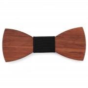 Tailor Toki Noeud papillon marron en bois de bubinga