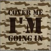 Cover Me, I'm Going In kondom