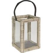 Artwood Lantern wicker ljuslykta
