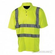 """Reflexní polo tričko Třída 2 - L 100-108cm (39-42"""") 245059 5055058173454 Silverline"""