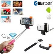 V&V Teleskopická selfie tyč s vestavěným bluetooth ovládáním - V&V