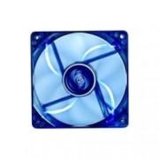 Вентилатор 120mm DeepCool Wind Blade Blue LED, 3-pin, 1300 rpm, 3 бр.
