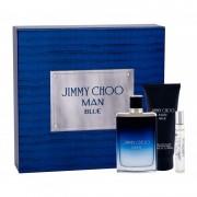 Set Cadou Jimmy Choo Man Blue (Concentratie: Apa de Toaleta, Gramaj: 100 ml)