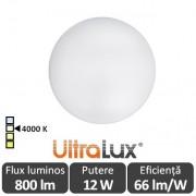 Ultralux Plafonieră Led cu senzor 12W SPLS1240