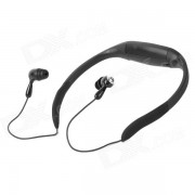 Reproductor MP3 impermeable con cascos c/ FM - Negro