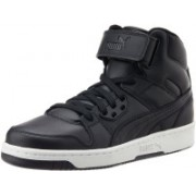 Puma Rebound Street L Mid Ankle Sneakers For Men(Black)