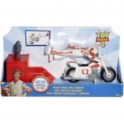 Mattel Toy Story 4, Figur-Stunt Racer Duke Caboom