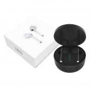 TW40 TWS5.0 Wireless Stereo Bluetooth Headphone Earphone with Charging Box - Black