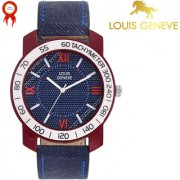 Louis Geneve iSport Series Analog Watch For Men (BBLUE-119)