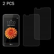 LG 2 stuks voor LG K7 0 26 mm 9H oppervlaktehardheid 2.5D explosieveilige gehard glas scherm Film