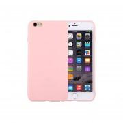 Para El Iphone 6 Y 6s Color Solido Tpu Protector Caso Sin Agujero Redondo (rosa)