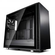 CASE, Fractal Design DEFINE S2 BLACKOUT, Window, Black /no PSU/ (FD-CA-DEF-S2-BKO-TGL)