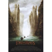 Lord Of The Rings Fellowship Of The Ring Movie Poster 2 Sided Original Boat Ver 27x40