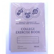 Psd College Exercise Book A4 72page, Retail