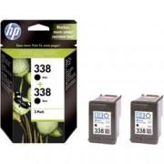 HP Cartridge do tiskárny HP CB331EE (338), černá, 2 ks
