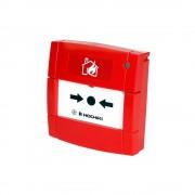 Buton de incendiu adresabil cu izolator la scurt-circuit Hochiki HCP-EM(SCI), aplicatii marine, IP24, LED dual