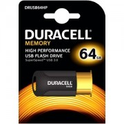 Duracell 64GB USB 3.0 Flash Memory Drive (DRUSB64HP)